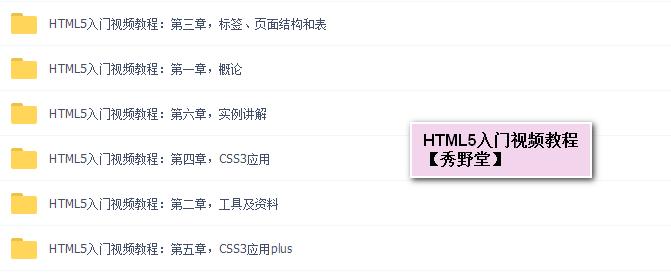 H5学习 | HTML5+CSS很全面的教程-你值得拥有
